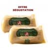 OFFRE DEGUSTATION - Lot de 2 Foie gras de canard entier mi-cuit 300 g - LABEL ROUGE